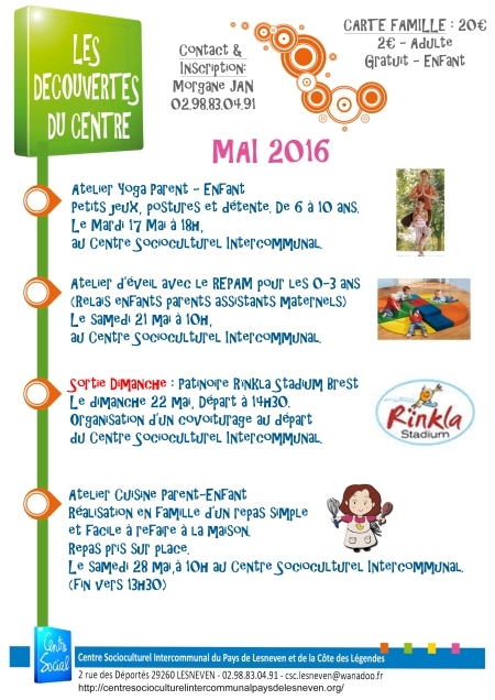 decouvertes du centre mai 2016